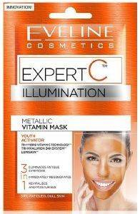ΜΑΣΚΑ ΠΡΟΣΩΠΟΥ EVELINE EXPERT C ILLUMINATION-244 (2 X 5 ML)