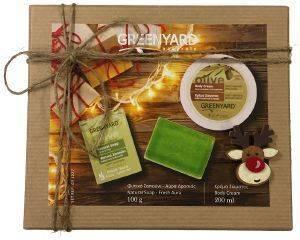 ΣΕΤ ΔΩΡΟΥ GREENYARD NATURALS CHRISTMAS BOX 2ΤΜΧ καλλυντικά  amp  αρώματα δωρα σετ για τη γυναικα