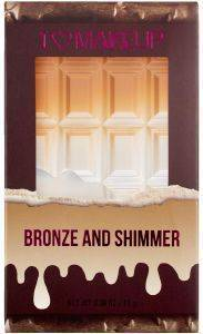 ΠΑΛΕΤΑ MAKEUP REVOLUTION I HEART MINI CHOCOLATE BRONZE AND SHIMMER 11GR
