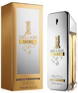 EAU DE TOILETTE PACO RABANNE 1 MILLION LUCKY 100 ML καλλυντικά  amp  αρώματα αρωματα ανδρικα eau de toilette