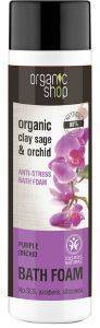 ΑΦΡΟΛΟΥΤΡΟ ORGANIC SHOP PURPLE ORCHID BATH FOAM ANTI-STRESS 500ML