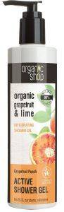 ΤΟΝΩΤΙΚΟ ΑΦΡΟΛΟΥΤΡΟ ORGANIC SHOP GRAPEFRUIT PUNCH GRAPEFRUIT & LIME SHOWER GEL 280ML