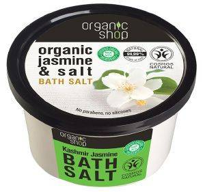 ΑΛΑΤΑ ΜΠΑΝΙΟΥ ORGANIC SHOP BATH SALT KASHMIR JASMINE 250ML