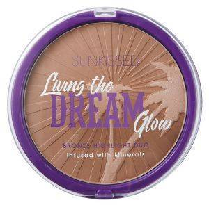 BRONZE HIGHLIGHT DUO SUNKISSED LIVING THE DREAM GLOW 28.5GR
