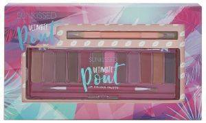 ΠΑΛΕΤΑ ΧΕΙΛΙΩΝ SUNKISSED ULTIMATE POUT LIP PALETTE 8,4GR