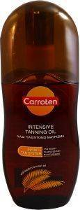 ΛΑΔΙ ΜΑΥΡΙΣΜΑΤΟΣ CARROTEN INTENSIVE TANNING OIL 125ML