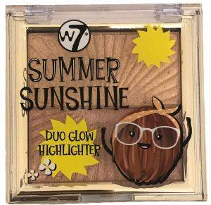 HIGHLIGHTER W7 SUMMER SUNSHINE DUO GLOW HIGHLIGHTER 2 X 3,5GR