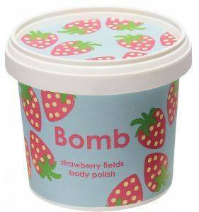 BODY POLISH BOMB COSMETICS STRAWBERRY FIELDS 365ML