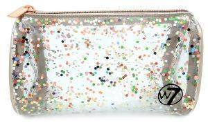 ΝΕΣΕΣΕΡ W7 CLEAR GLITTER COSMETICS BAG