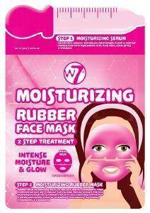 ΜΑΣΚΑ W7 MOISTURISING 2 STEP TREATMENT RUBBER FACE MASK