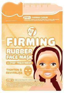 ΜΑΣΚΑ ΠΡΟΣΩΠΟΥ W7 FIRMING 2 STEP TREATMENT RUBBER FACE MASK
