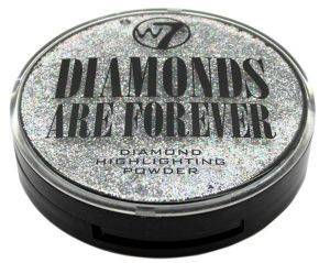 HIGHLIGTER POWDER W7 DIAMONDS ARE FOREVER 10GR