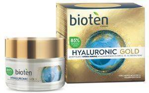 ΚΡΕΜΑ ΗΜΕΡΑΣ BIOTEN HYALURONIC GOLD DAY CREAM 50ML