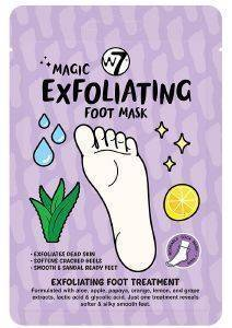 ΜΑΣΚΑ ΠΟΔΙΩΝ W7 MAGIC EXFOLIATING FOOT MASK 18GR