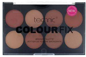 ΠΑΛΕΤΑ TECHNIC COLOUR FIX BRONZE PALETTE  28GR