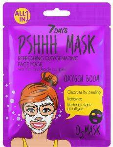 ΜΑΣΚΑ 7 DAYS PSHHH OXYGEN BOOM SHEET MASK 25G