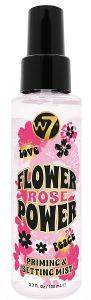 PRIMING AND SETTING SPRAY W7 FLOWER POWER ROSE 100ML
