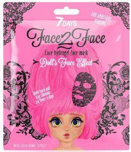 FACE-2-FACE 7 DAYS LACE HYDROGEL MASK COCOA BEANS 28GR
