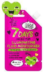 BB CREAM 7 DAYS EMOTIONS ILLUMINATING FLUID MOISTURIZER 25ML