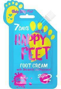 FEET CREAM 7 DAYS FEET BABY SILKY FEET CREAM 25ML