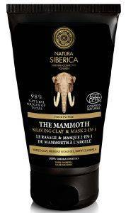 ΑΦΡΟΣ NATURA SIBERICA  MEN SHAVING CALY AND MASK THE MAMMOTH 150ML