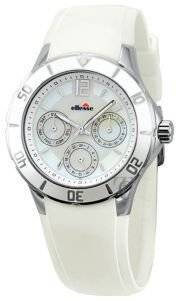 ELLESSE CALENDAR WHITE RUBBER STRAP ρολόγια γυναικεια λοιπα καουτσουκ