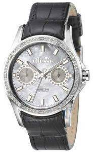 ELLESSE SPORTIVO MULTI FUNCTION BLACK LEATHER STRAP