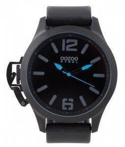 ΑΝΔΡΙΚΟ ΡΟΛΟΙ OOZOO STEEL XXL BLACK RUBBER STRAP - ΑΝΔΡΙΚΑ-OOZOO ... a21689658cd