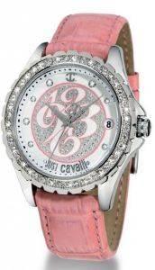 ΓΥΝΑΙΚΕΙΟ ΡΟΛΟΙ JUST CAVALLI EASY CRYSTAL LADIES ρολόγια γυναικεια just cavalli δερματινα