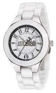 ΓΥΝΑΙΚΕΙΟ ΡΟΛΟΙ JUST CAVALLI CERAMIC LADIES BRACELET ρολόγια γυναικεια just cavalli ατσαλι