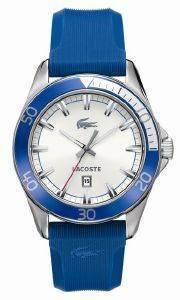 ΑΝΔΡΙΚΟ ΡΟΛΟΙ LACOSTE SPORT NAVIGATOR BLUE RUBBER STRAP ρολόγια προσφορεσ ρολογιων ανδρικα