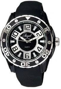 ΓΥΝΑΙΚΕΙΟ ΡΟΛΟΙ ANGEL BLACK RUBBER STRAP ρολόγια γυναικεια λοιπα καουτσουκ