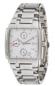 ΑΝΔΡΙΚO ΡΟΛOΙ ESPRIT PURE ΑDVENTURA ΗOUSTON CALENDAR STAINLESS STEEL BRACELET