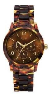 GUESS MINI SPECTRUM CHRONOGRAPH TORTOISE LOOK RESIN
