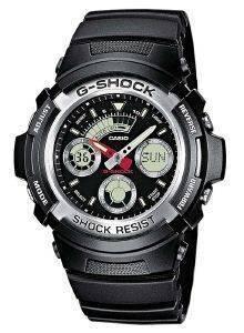 ΑΝΔΡΙΚΟ ΡΟΛΟΙ CASIO G-SHOCK 11-AW-590-1AER ΜΑΥΡΟ ρολόγια ανδρικα casio καουτσουκ