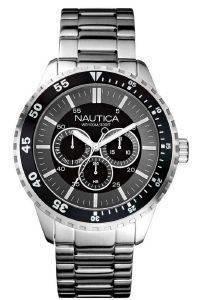 ΑΝΔΡΙΚΌ ΡΟΛΌΙ NAUTICA NCT 402 A24533G CHRONO Ανδρικό ρολόι απο την Nautica από ανοξείδωτο ατσάλι με μαύρο καντράν και μπρασελέ  QuartzΟρυκτό αντιχαρακτικόΜαύρο φωσφορίζοντες δείκτεςΑνοξείδωτο βιδ