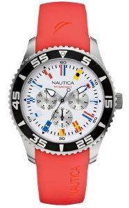 ΓΥΝΑΙΚΕΙΟ ΡΟΛΟΙ NAUTICA NST 07 FLAG A12628G MULTIFUNCTION