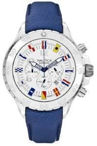 ΑΝΔΡΙΚΟ ΡΟΛΟΙ NAUTICA NST FLAG CERAMIC CHRONO A43506G