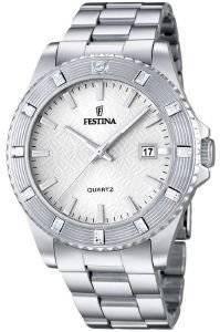 ΓΥΝΑΙΚΕΙΟ ΡΟΛΟΙ FESTINA VENDOME F16689/1 ρολόγια γυναικεια festina ατσαλι