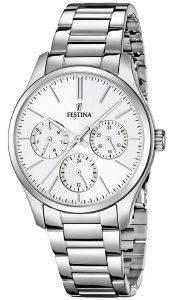ΓΥΝΑΙΚΕΙΟ ΡΟΛΟΙ FESTINA F16813/1 ρολόγια γυναικεια festina ατσαλι