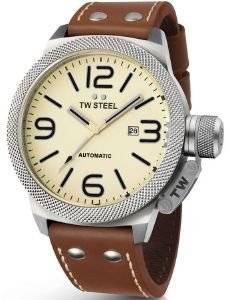 ΑΝΔΡΙΚΟ ΡΟΛΟΙ TW STEEL CANTEEN TWA953 AUTOMATIC ρολόγια ανδρικα tw steel xxl δερματινα