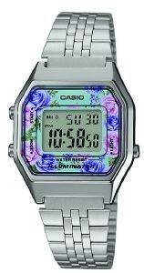 ΓΥΝΑΙΚΕΙΟ ΡΟΛΟΙ CASIO COLLECTION LA-680WEA-2CEF ΑΣΗΜΙ ρολόγια γυναικεια ρολογια quartz
