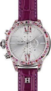 UNISEX ΡΟΛΟΙ HAEMMER DSC-14 IMPERIA II PURPLE CHRONOGRAPH ρολόγια γυναικεια ρολογια quartz