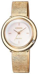 ΓΥΝΑΙΚΕΙΟ ΡΟΛΟΙ CITIZEN EM0643-84X ELEGANCE LADIES ρολόγια γυναικεια ρολογια solar