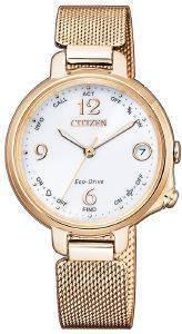 ΓΥΝΑΙΚΕΙΟ ΡΟΛΟΙ CITIZEN EE4033-87A BLUETOOTH SMARTWATCH LADIES ρολόγια γυναικεια ρολογια solar
