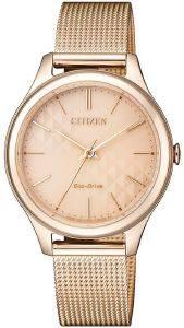 ΓΥΝΑΙΚΕΙΟ ΡΟΛΟΙ CITIZEN ECO-EM0503-83X DRIVE ELEGANCE ρολόγια γυναικεια ρολογια solar