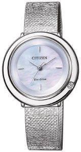 ΓΥΝΑΙΚΕΙΟ ΡΟΛΟΙ CITIZEN EM0640-82D ELEGANCE ρολόγια γυναικεια ρολογια solar