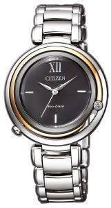 ΓΥΝΑΙΚΕΙΟ ΡΟΛΟΙ CITIZEN EM0658-87E ELEGANCE ρολόγια γυναικεια ρολογια solar
