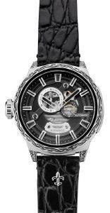ΑΝΔΡΙΚΟ ΡΟΛΟΙ HAEMMER R-100 REBELLIOUS BLACK HOLE ρολόγια ανδρικα ρολογια automatic