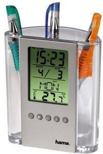 HAMA 75299 LCD THERMOMETER PENHOLDER